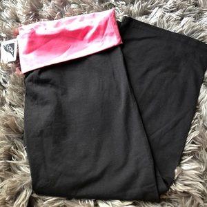 Victoria Secret Capris Yoga Pants m new